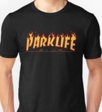 "Blur ""Parklife"" Thrasher Logo Unisex T-Shirt"