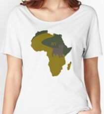 Africa by Toto- Pun Art Women's Relaxed Fit T-Shirt