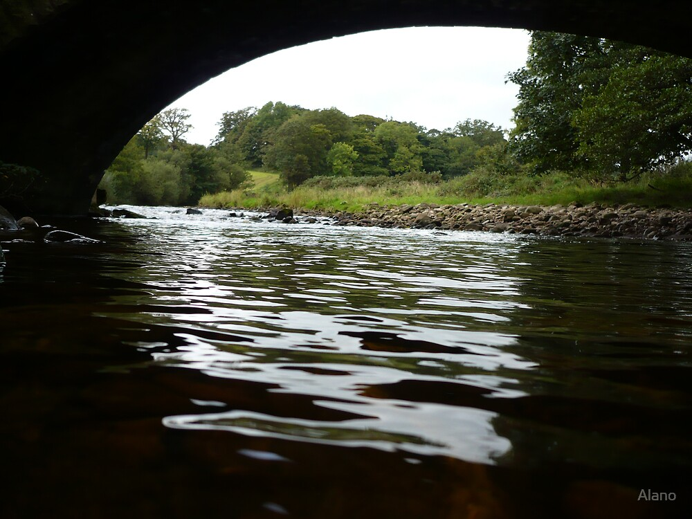 River Wyre by Alano