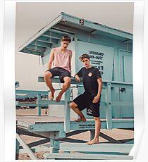 beach sunshine Poster