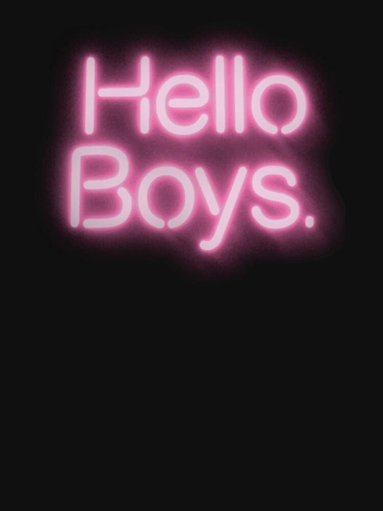 Hello Boys! by TeeArt