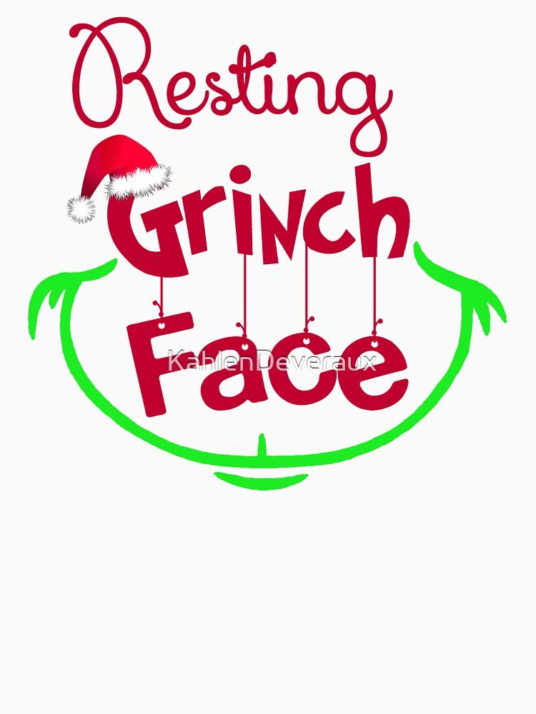 dcc86878777e4 Resting Grinch Face