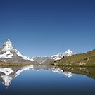 matterhorn reflection by mc27