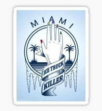The Ice Truck Killer  Sticker