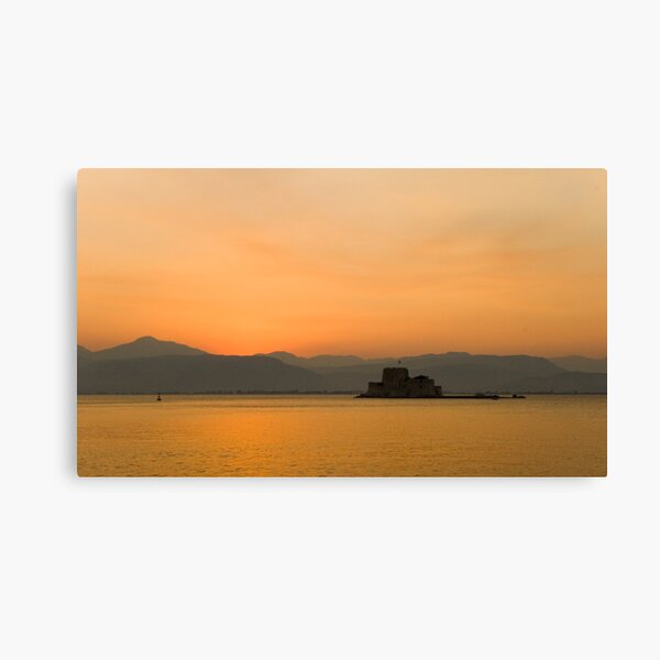 Minutes after sunset Canvas Print