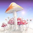 Mushrooms  by Robert Burton