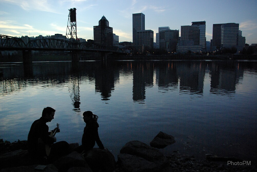 Portland Waterfront  by PhotoPM