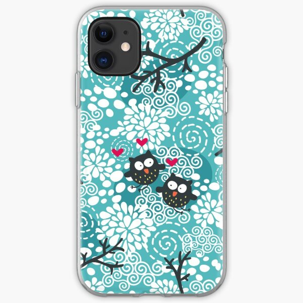 Snow owl iPhone Soft Case