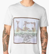 Rural decadence. Men's Premium T-Shirt