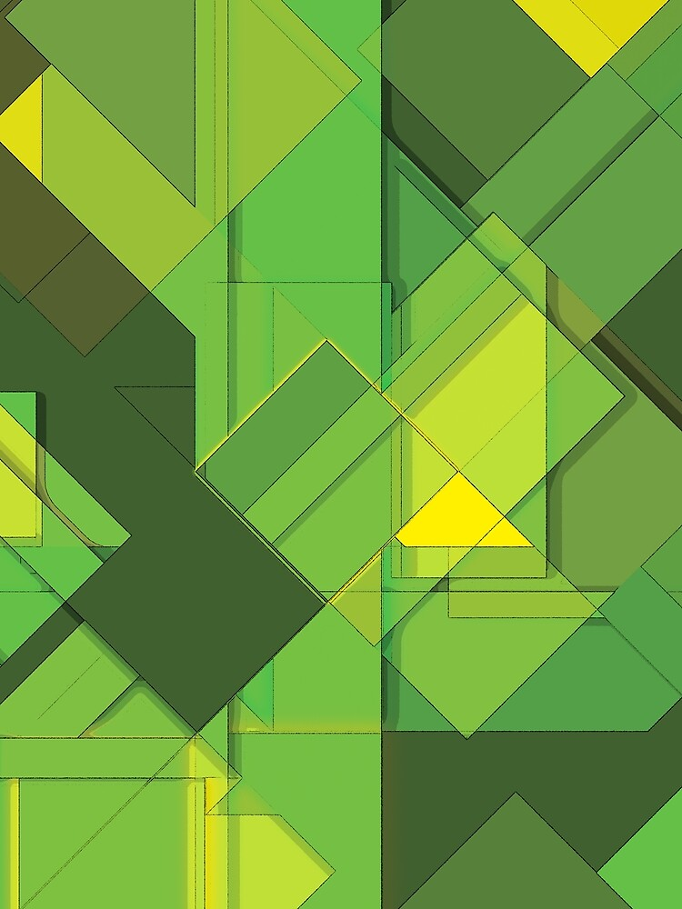 So Abstract, So Green by the99thstudio
