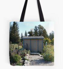 School Bus Shelter Tote Bag
