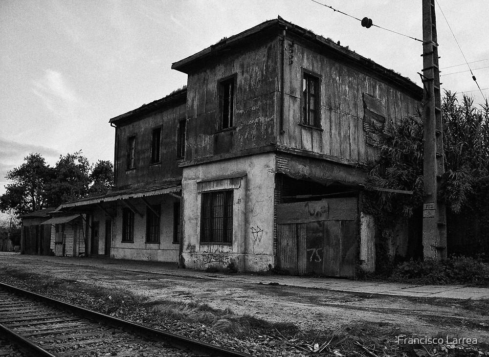 Railway station. by Francisco Larrea