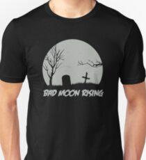 Camiseta ajustada sobresaliendo como una miniatura gris por el camino de Emerson y su roca de granito