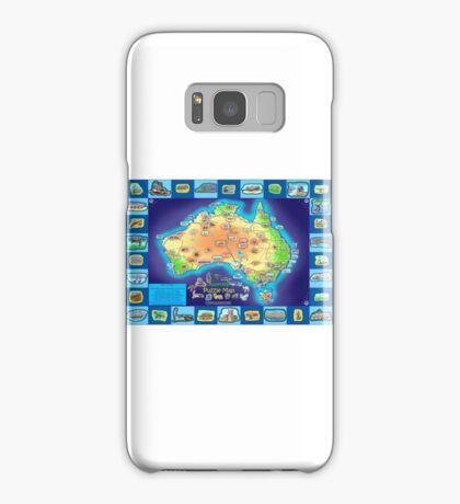 Australia Map board game Samsung Galaxy Case/Skin