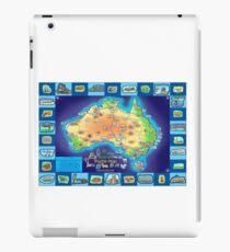 Australia Map board game iPad Case/Skin