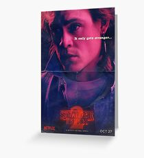 Billy | Stranger Things Greeting Card