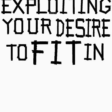 exploiting your desire to fit in by gwschenk