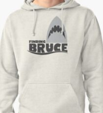 Finding Bruce (Finding Dory inspired horror) Pullover Hoodie