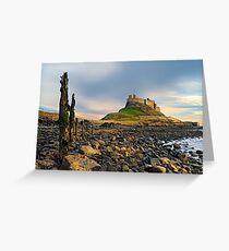 Classic Lindisfarne - Holy Island Greeting Card