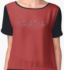 Yolanda Women's Chiffon Top