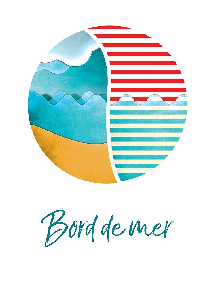 Bord de Mer, Sea Side by the99thstudio