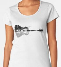 Nature Guitar Premium Scoop T-Shirt