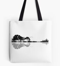 Nature Guitar Tote Bag