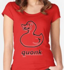 quonk Women's Fitted Scoop T-Shirt