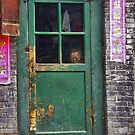 The woman behind the door - China by Christophe Dur