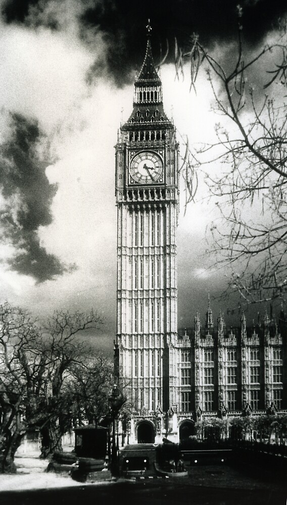 Big Ben Infrared by Nathan Walker
