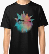 Colorful Geometric Nature Guitar Classic T-Shirt