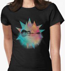 Colorful Geometric Nature Guitar T-Shirt