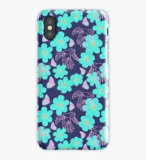 Bluetits and Butterflies iPhone Case/Skin