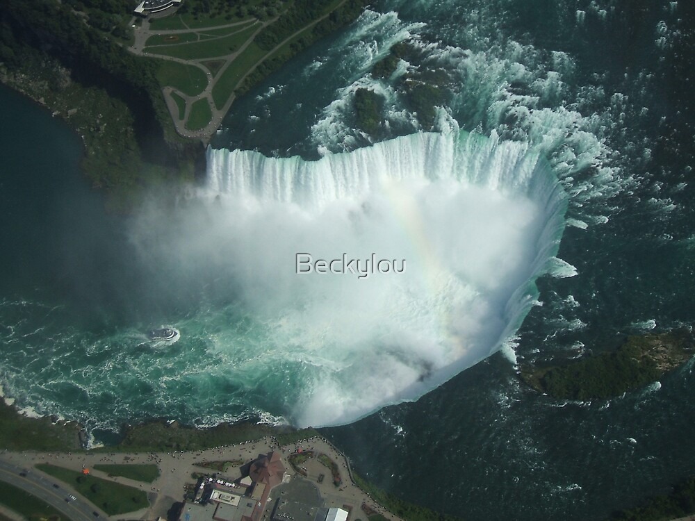 The Horseshoe Falls, Niagara by Beckylou