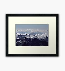 Heavenly view, Bernese Alps Framed Print