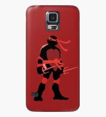 Funda/vinilo para Samsung Galaxy TMNT SILHOUETTES - Classic Raphael