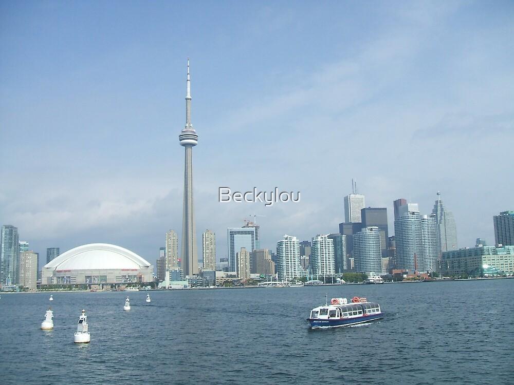 Toronto skyline by Beckylou