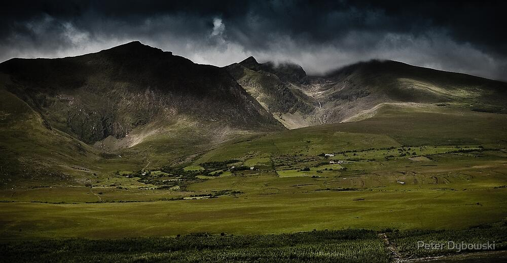 Conor Pass, Dingle, Ireland by Peter Dybowski