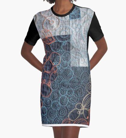 Coastline #1 Graphic T-Shirt Dress