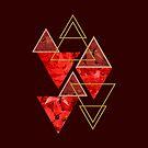 Red Fall #redbubble #decor #buyart by designdn