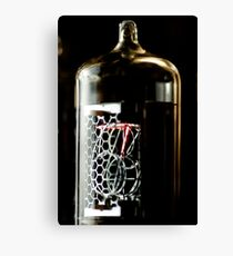 Time in a little glass bottle Canvas Print
