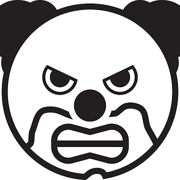 Scary Clown by RedYolk
