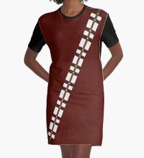 Chewbacca Chewie belt Graphic T-Shirt Dress