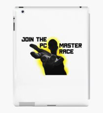 Join The PC Master Race iPad Case/Skin