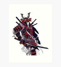 Samurai ronin Art Print