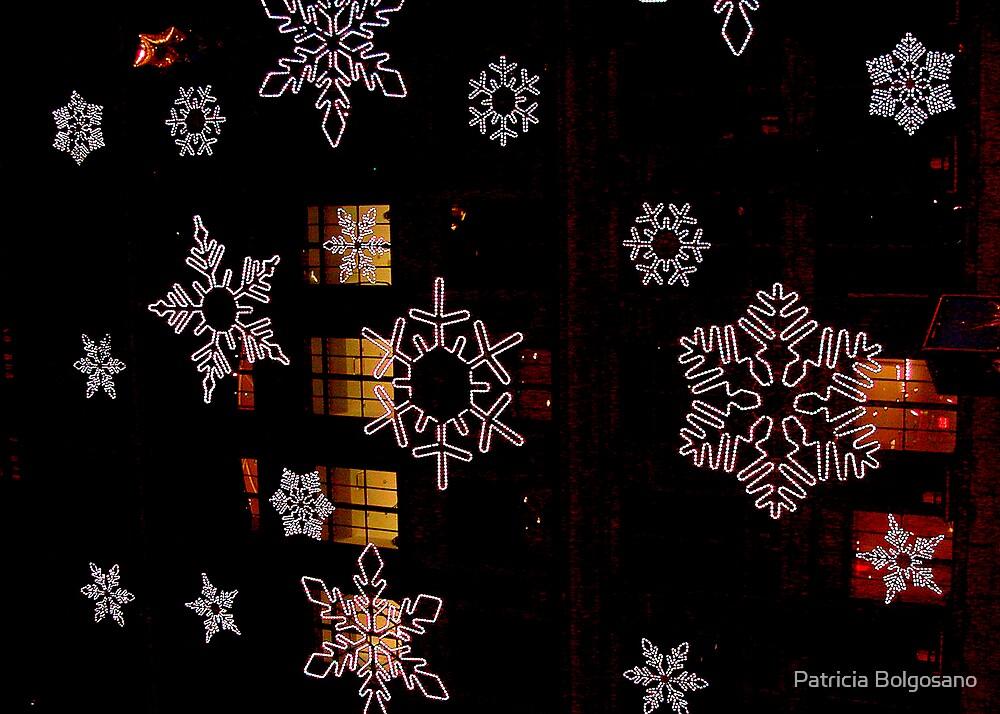 NYC Sparkling Flakes by Patricia Bolgosano