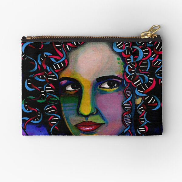 Rosalind Franklin Zipper Pouch