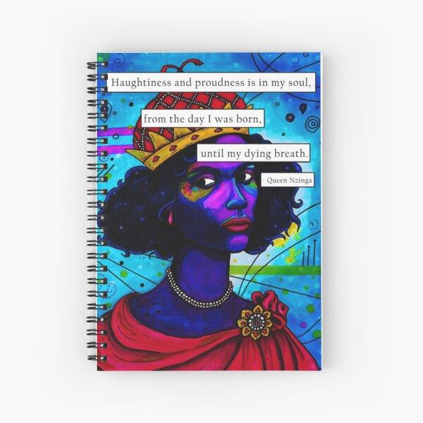 Queen Nizinga Spiral Notebook