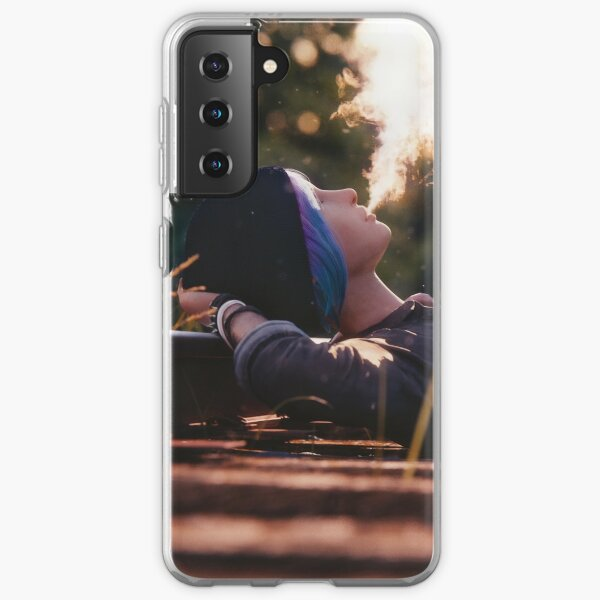 'Just Daydreaming' : Chloe from Life is Strange rendered by Bertsz Samsung Galaxy Soft Case