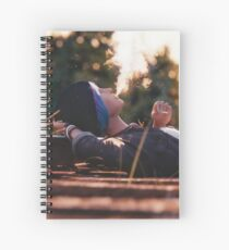 'Just Daydreaming' : Chloe from Life is Strange rendered by Bertsz Spiral Notebook